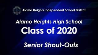 Alamo Heights High School Graduation - Class of 2020
