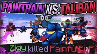 PainTrain vs. Taliban!! (TEAM FIGHT) + Red-Rover Against PainfulPvP!!