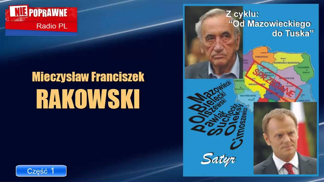 Tadeusz Mazowiecki: Od Mazowieckiego Do Tuska Cz.01: Mieczysław F