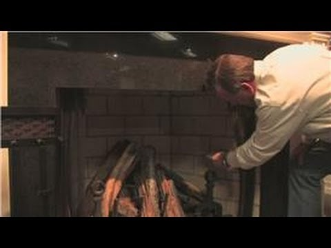 Fireplace Maintenance : Cleaning Soot Off of Fireplace Bricks ...