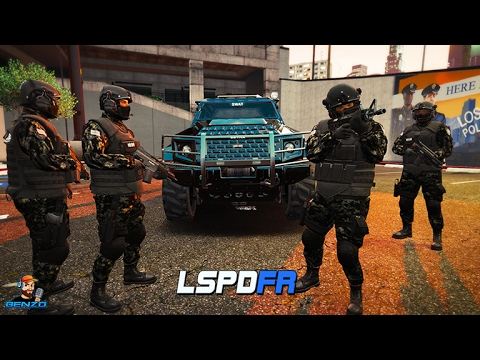 GTA 5 LSPDFR - SWAT Insurgent - Armored Car Robbery