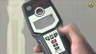 Обзор ► Детектор Bosch Gms 120 Professional