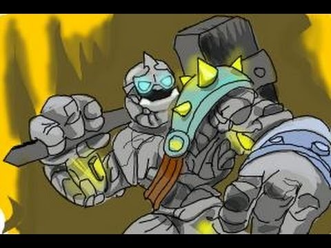 How to draw Crusher from Skylanders Giants  YouTube