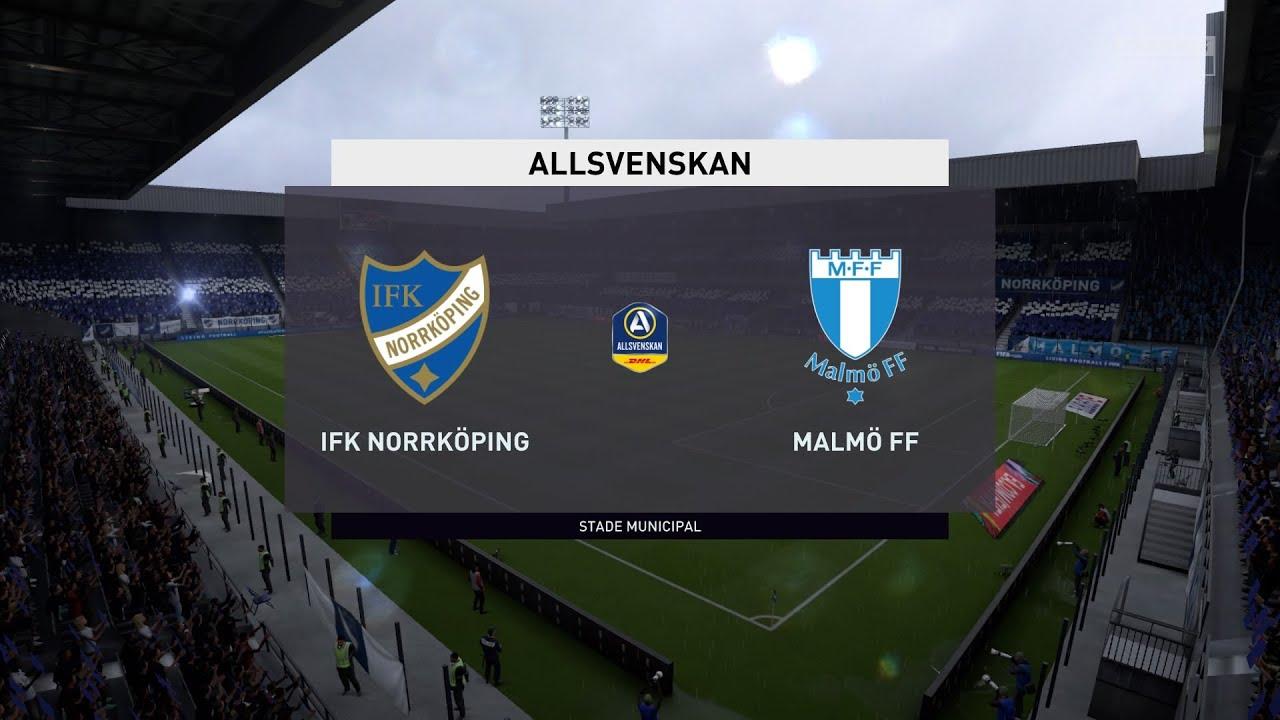 Fifa 20 Ifk Norrkoping Vs Malmo Ff Sweden Allsvenskan 20 09 2020 1080p 60fps Youtube