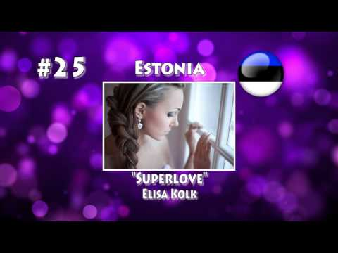 ESC 2015: My Top 40 Songs From National Finals