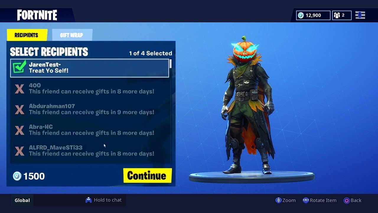 The GIFTING SYSTEM in Fortnite.. FINALLY!!