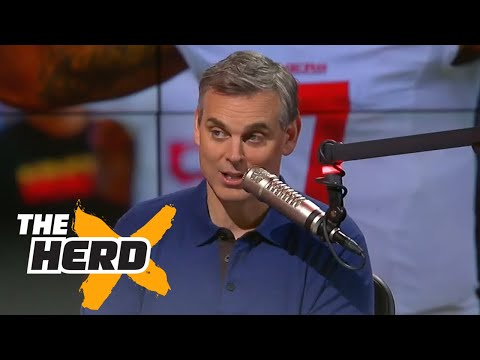 Colin Kaepernick says he will stand for anthem - Cowherd explains why | THE HERD