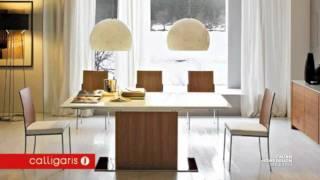 Calligaris Park Glass Cs/4039-gr Dining Table