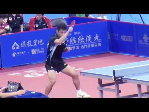 张继科 Zhang Jike VS. 樊振东 Fan Zhendong 2017 National Game of China [Private]