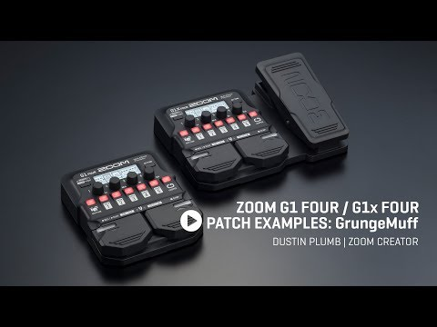 Zoom G1X FOUR Multi-Effects Guitar Pedal with Expression
