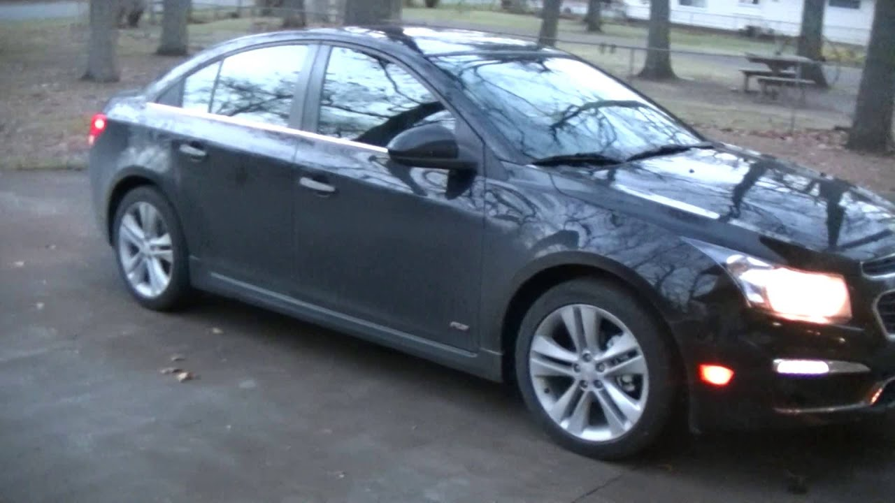 2016 Chevrolet Cruze limited LTZ RS - YouTube