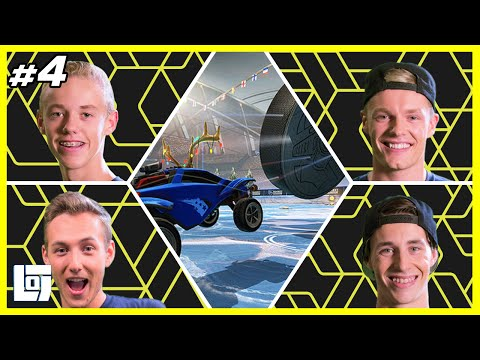 Rocket League met Link en Jeremy vs. Enzo en Quin | XL Battle | LOGS1 #4