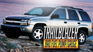2007 Chevy Trailblazer Fuel Pump Replacement, Gas Tank Remove Replace