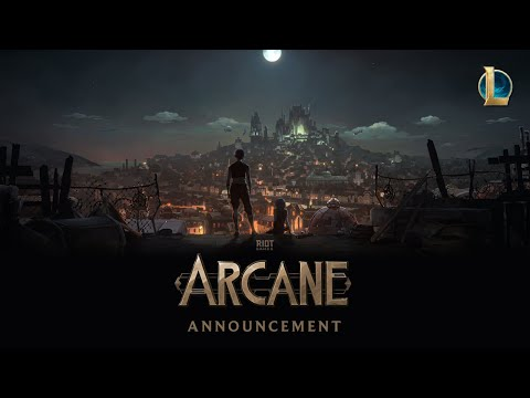 Arcane: Animated Series Announcement   Riot Pls: 10th Anniversary Edition - League of Legends