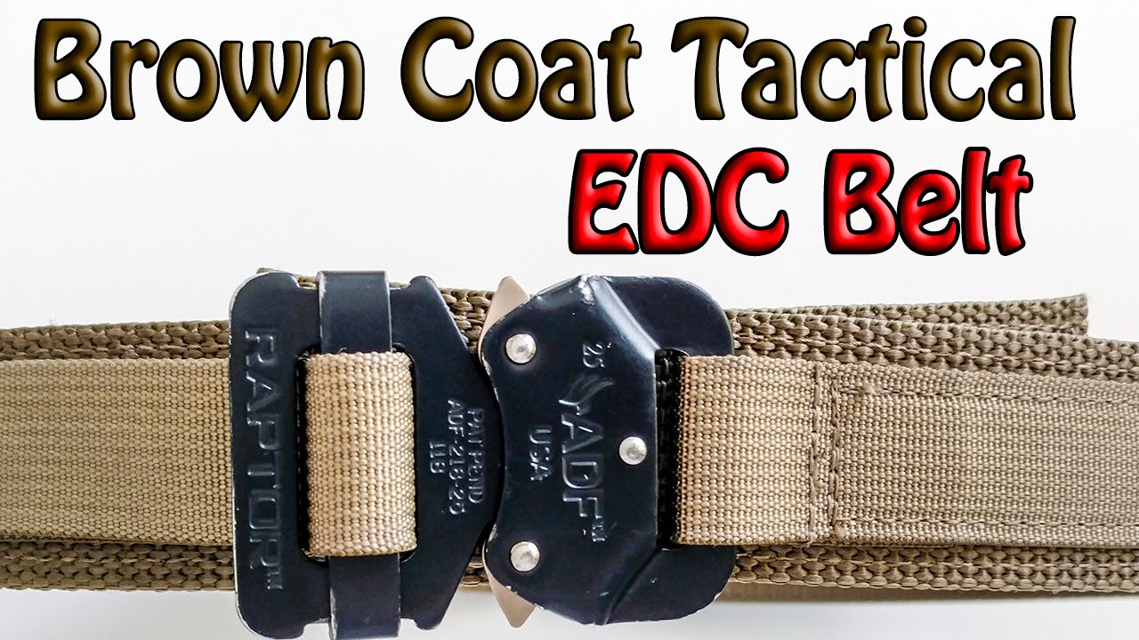 Browncoat Tactical EDC Belt - YouTube