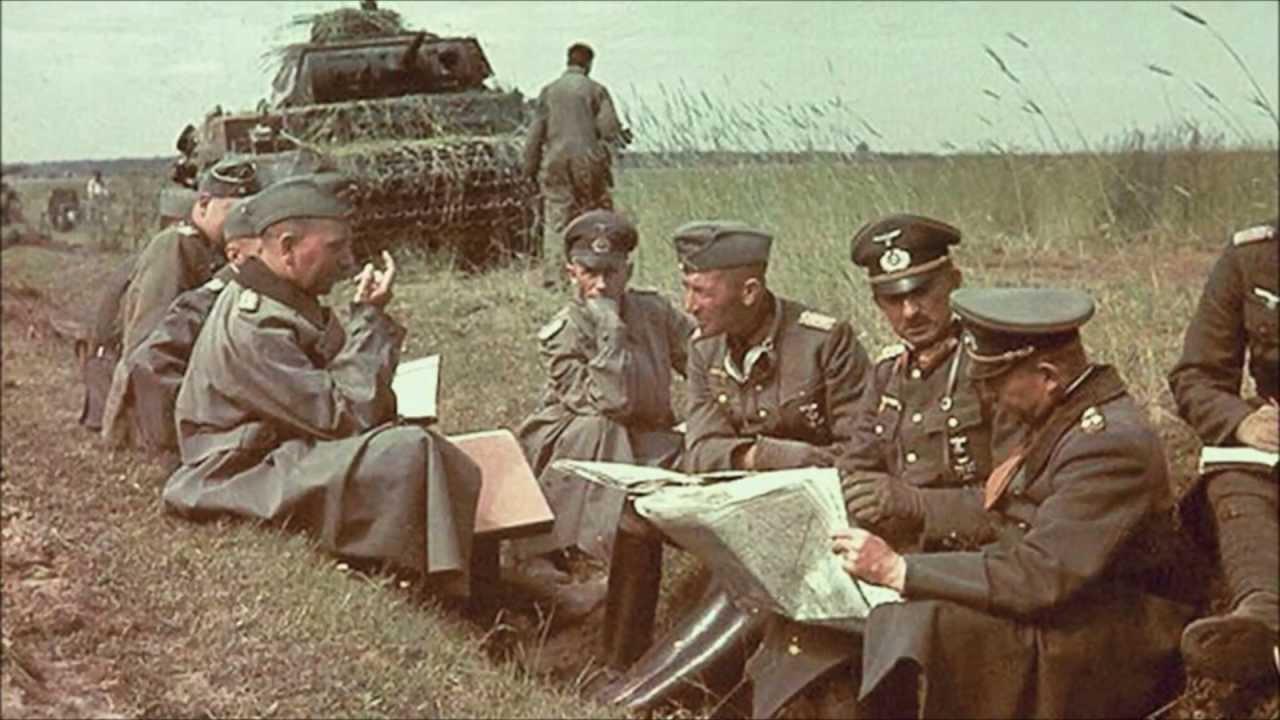 German WW2 Tank/Artillery Pictures in Color part III