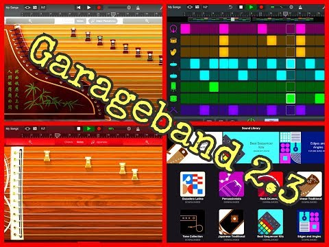 GARAGEBAND 2.3 - Let's Explore This MASSIVE 100% FREE Update - Demo for iPad