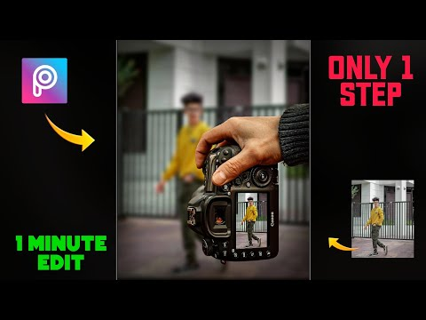 PicsArt Camera Photo Editing Trick 🔥 #shorts