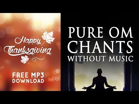 OM Mantra Chanting | 108 Times | Without Music Pure Vocals | Free Download