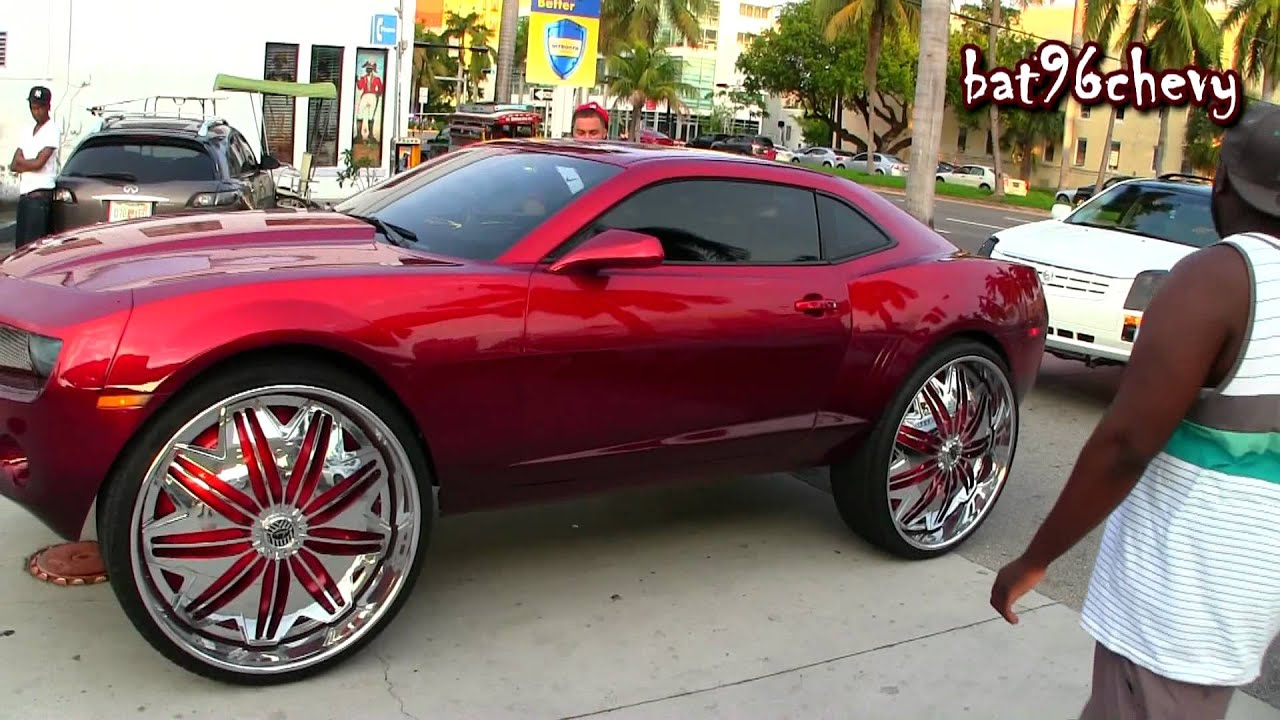 Camaro On 32 S 300 Amp Srx On 30 S Outrageous Charger On Forgis Gas Station 1080p Hd Youtube