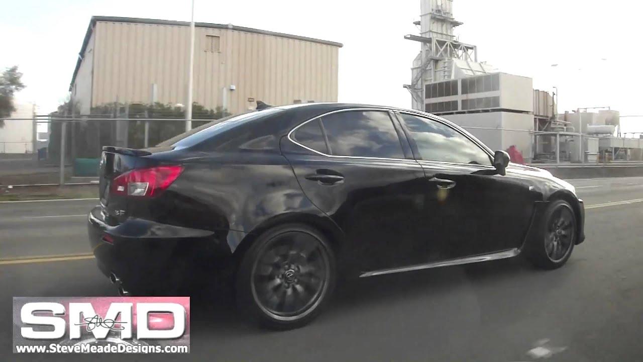 Obsidian Black 2011 Lexus IS F Rolling   Stock Wheels/Tires