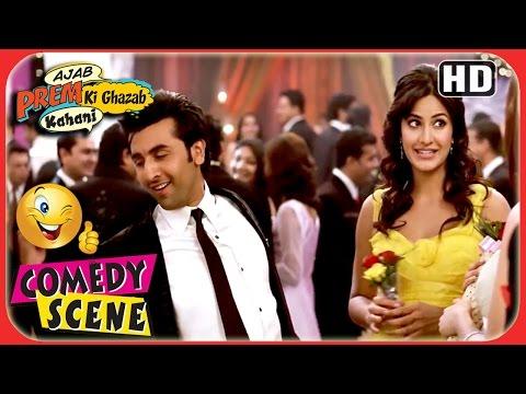 Ajab Prem Ki Ghazab Kahani - Fight At The Party - Ranbir Katrina Comedy Scene