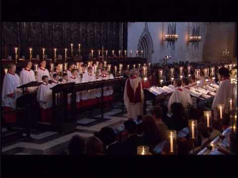 King's College Cambridge 2008  #6 Infant Holy, Infant Lowly arr. Stephen Cleobury