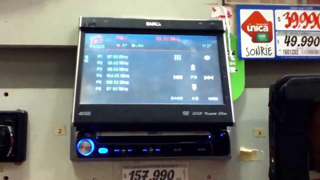 sony xplod not working 2004 kia sedona fuel pump wiring diagram estéreo con pantalla!!! - youtube