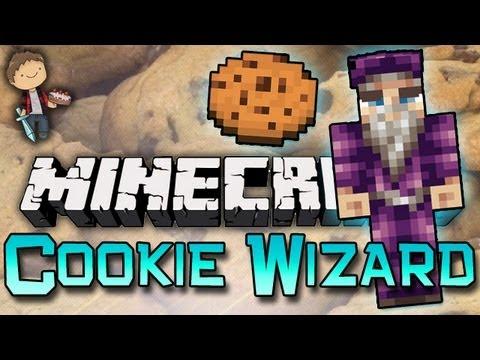 Minecraft: COOKIE WIZARD W/Mitch & Jerome! Part 1