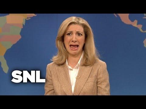 Weekend Update: Arianna Huffington On Martha Raddatz - Saturday Night Live
