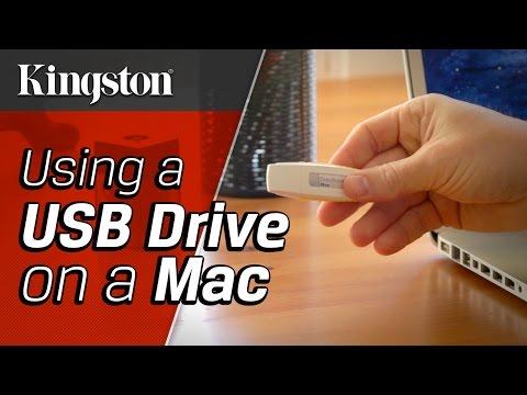 Using a USB Drive on a Mac