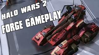 Halo Wars 2 - Forge Gameplay GRIZZLY ATTACK