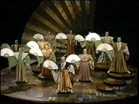 "Stratford Festival 1982--""The Mikado"" Gentlemen from Japan"