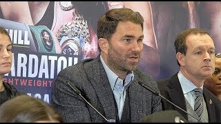 Eddie Hearn & Matchroom Boxing present Crolla/Taylor UNDERCARD PRESS CONFERENCE