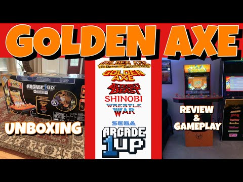 ARCADE1UP GOLDEN AXE UNBOXING AND REVIEW from GameMom77