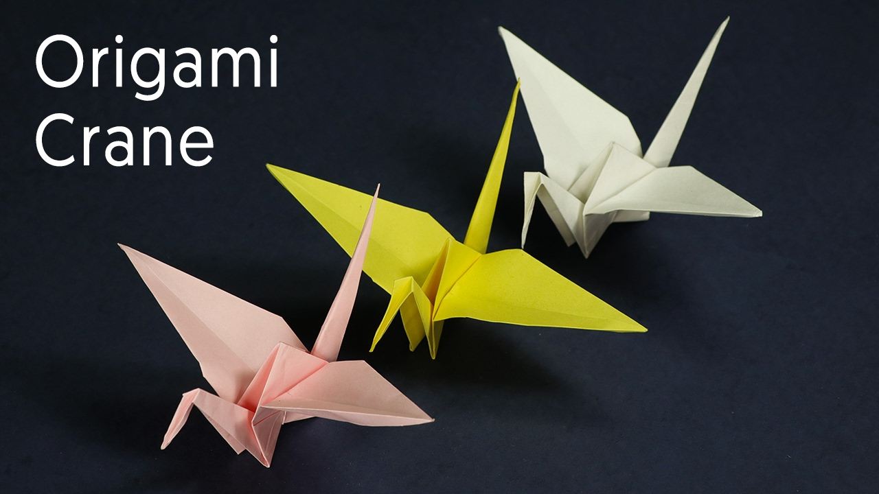 How to make a Paper Crane: Origami Crane Instructions and Diagrams | 720x1280