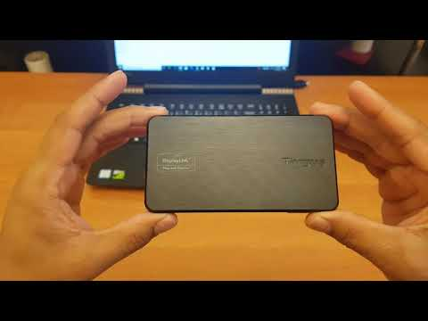 Unboxing Targus USB 3.0 Portable/Travel Docking Station DOCK110 and its Usage