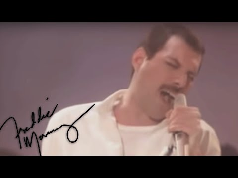 A moment with Freddie Mercury