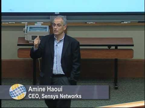 Amine Haoui CEO Sensys Networks