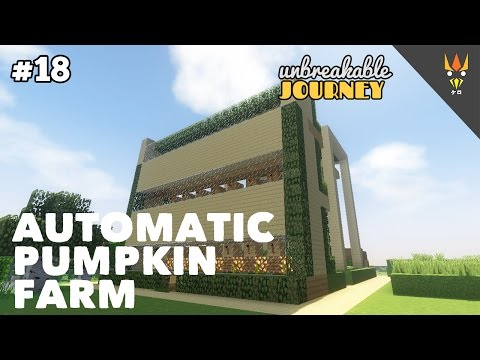 IT'S DONE! FREE PUMPKIN FOR Y'ALL! - Minecraft Indonesia #18