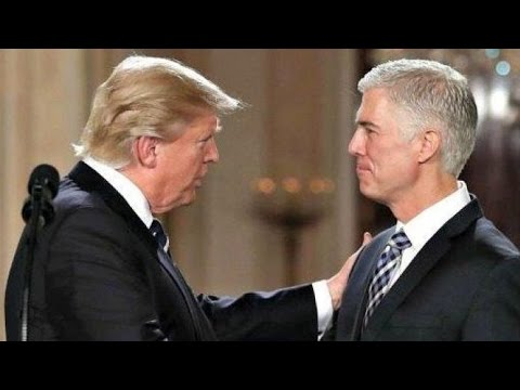 President Donald Trump Swearing In Neil Gorsuch Ceremony of the Honorable - Justice Anthony Kennedy
