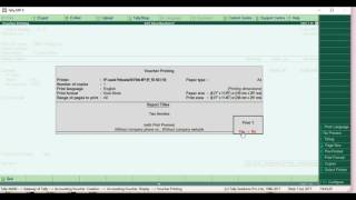 GST Export Invoice Format Configuration in Tally