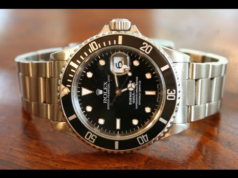 Zaktualizowano Rolex Submariner Replica vs Real Analysis - YouTube FO14