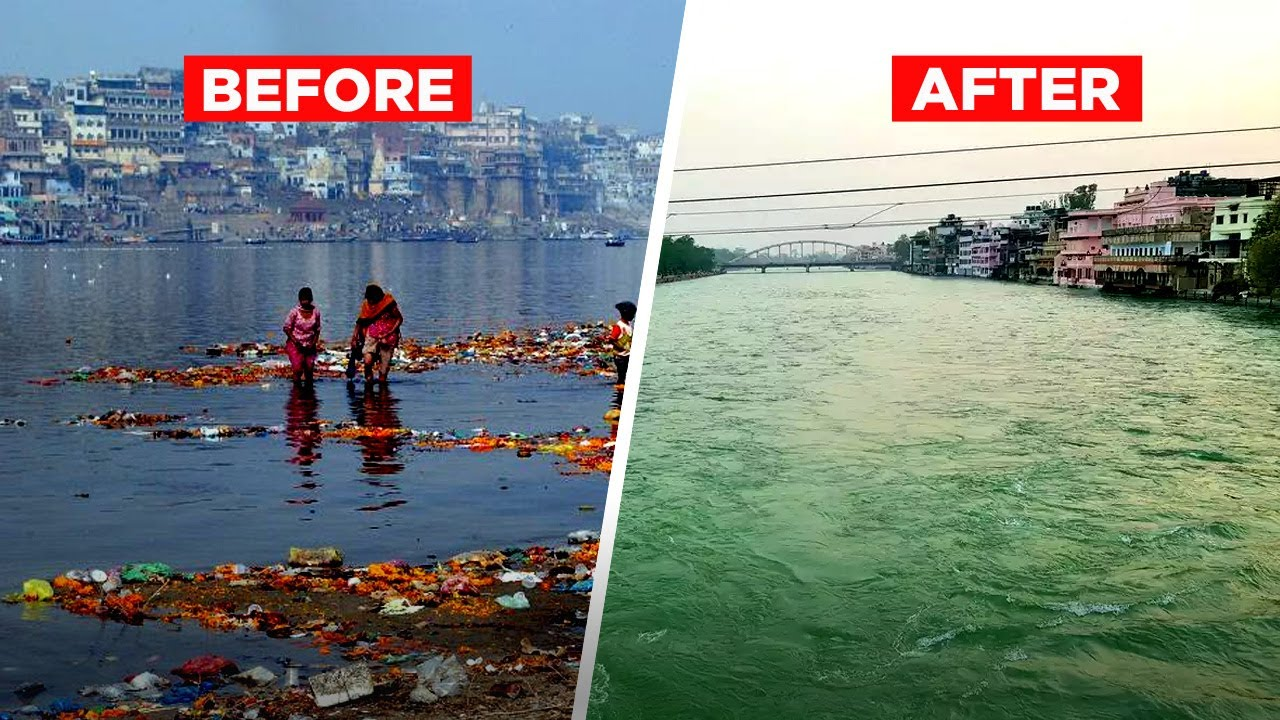 After Coronavirus Lockdown River Ganga's Water Has Become Fit For ...
