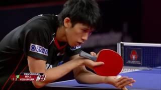韓国オープン2017男子シングルス準決勝 吉村真晴vsボル 第6ゲーム