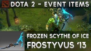 DOTA2 Items : Frozen Scythe of Ice | Furion, Nature's Prophet