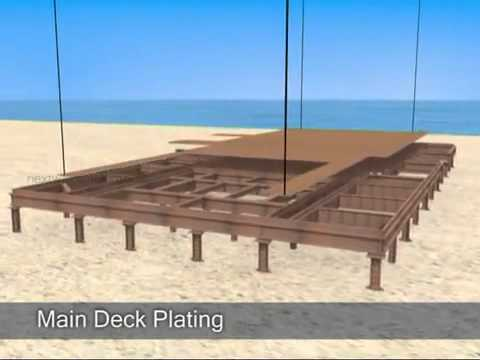 3D Technical Animation for an Offshore Oil Process Platform   YouTube