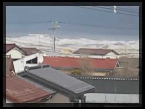 Tsunami HIts Japan-Watari,Miyagi,Japan