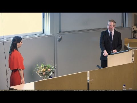 PhD defense, Paula Zitinski Elias, Linköping University, Sweden
