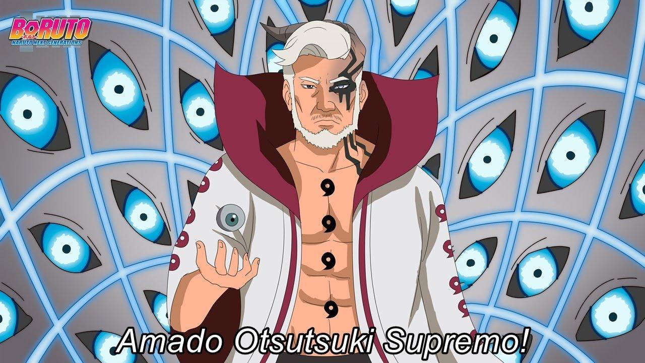 Rei Otsutsuki acima de Kaguya mostra como derrotou Naruto Sasuke e Boruto - Boruto
